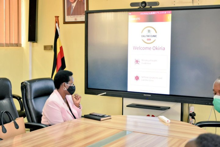 COVID-19: Ministry of Health- Call The Clinic mobile app launched in Uganda