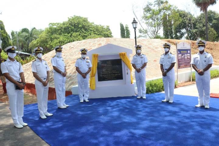 Foundation stone for Missile Park 'Agneeprastha' laid at INS Kalinga