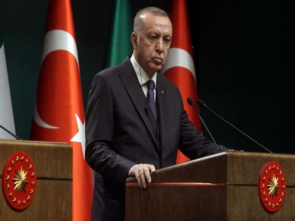 Turkey's Erdogan says he will discuss tourism with UK's Johnson at NATO summit