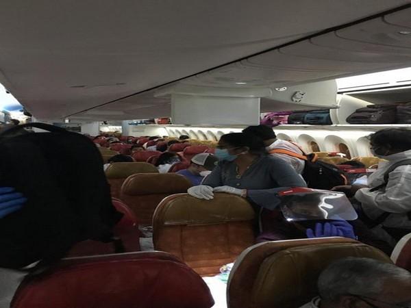 Vande Bharat flight with 195 Indians departs from Washington DC