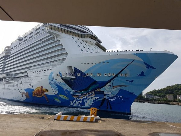 Norwegian Escape cruise ship with 474 Goan seafarers docks at MPT