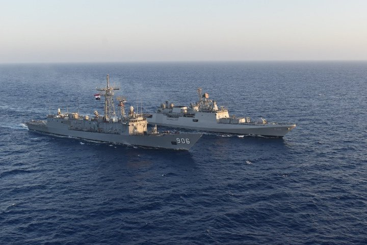 INS Tabar undertakes maritime partnership exercise with Egyptian Navy