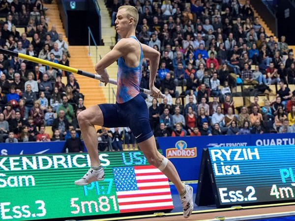 Tokyo Olympics: US pole vaulter Sam Kendricks out of Games after testing COVID-19 positive