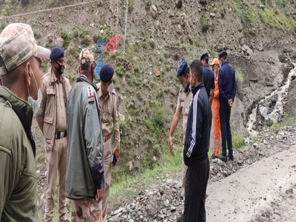 Flash flood damages 6 bridges in Himachal's Lahaul-Spiti
