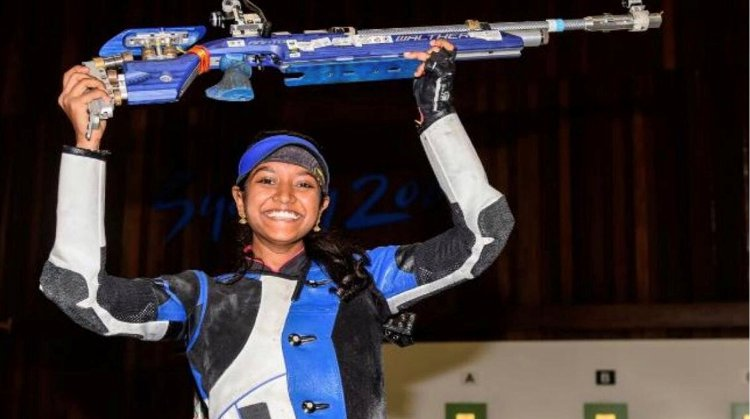 Shooting: India's Elavenil claims her maiden World Cup gold medal