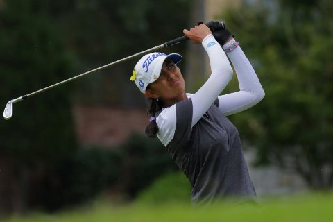 Solid start by Aditi in women's golf, placed second ahead of big names