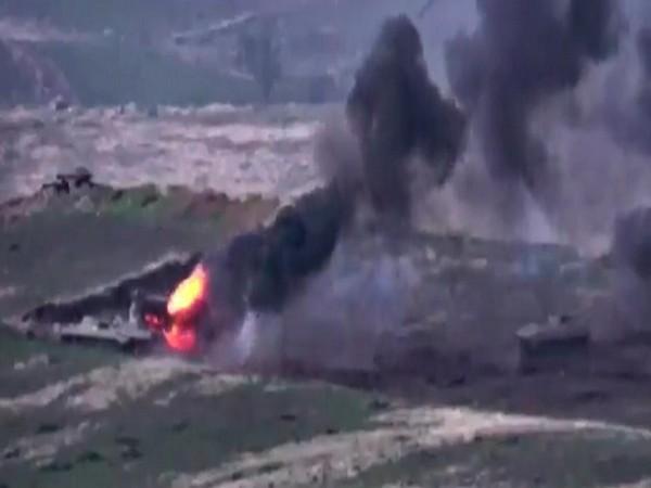Pakistani soldiers fighting alongside Azerbaijan troops