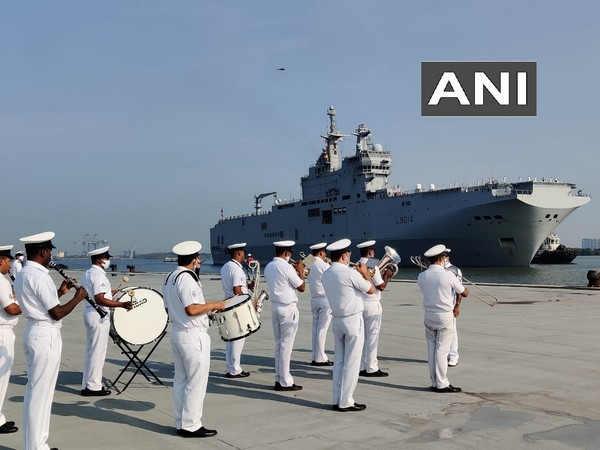 French ships reach Kochi to lead QUAD naval exercise
