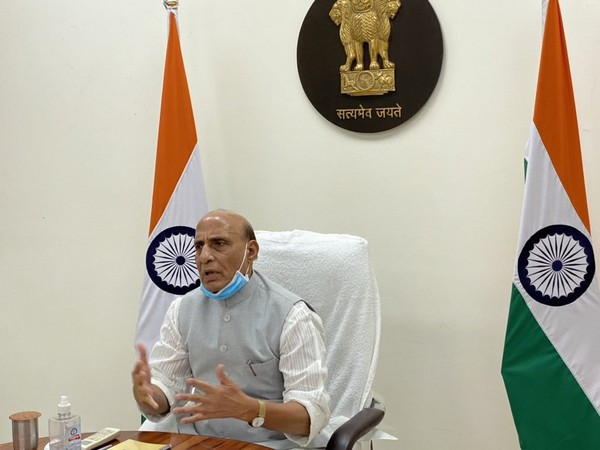IAF carried out 23 sorties from abroad, airlifting 39 oxygen containers: Rajnath Singh