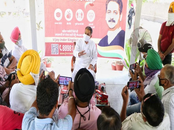 Punjab Minister launches COVID ambulance, door to door awareness campaign in Sangrur