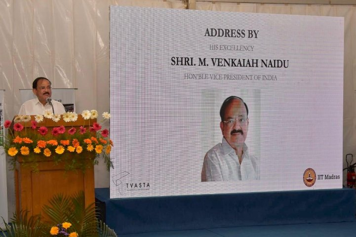 VP Naidu commends IIT Madras's efforts behind project of 3D Printed House