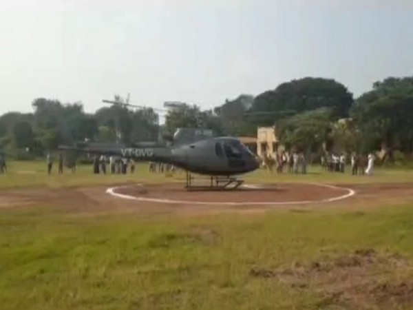 FIR against Hyderabad man for landing helicopter on school ground