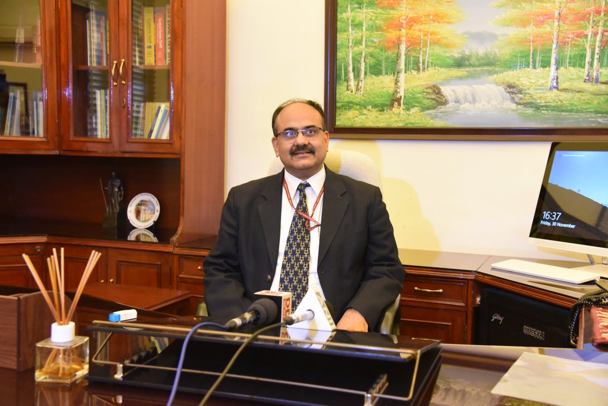 UIDAI CEO Ajay Bhushan Pandey takes over as Revenue Secretary