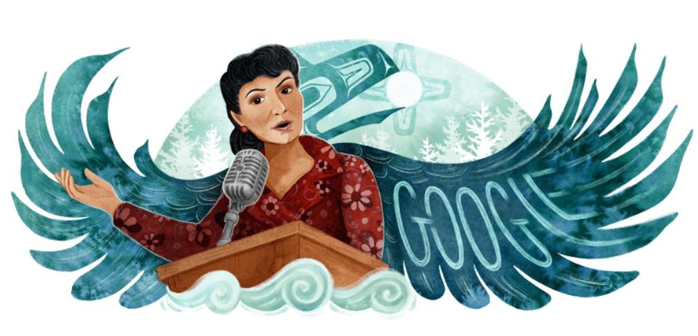 Elizabeth Peratrovich: Google dedicates doodle to American civil rights activist