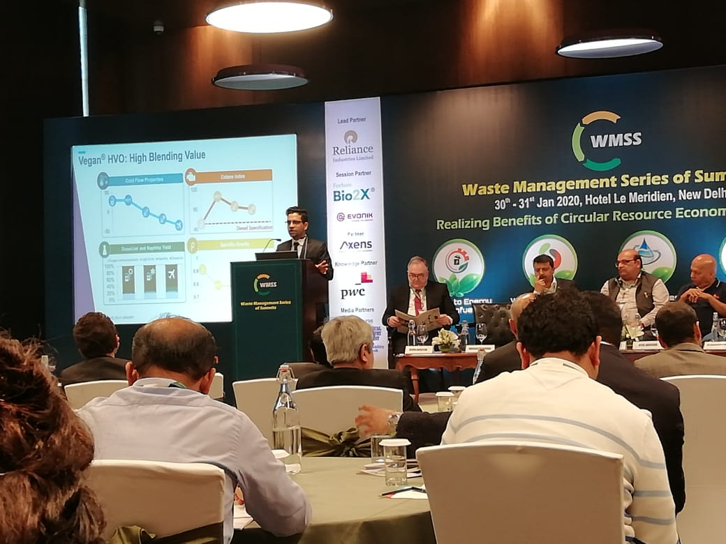 WMSS 2020: Axens Solutions aims to achieve 20 pct biofuels, cites Harshit Agarwal