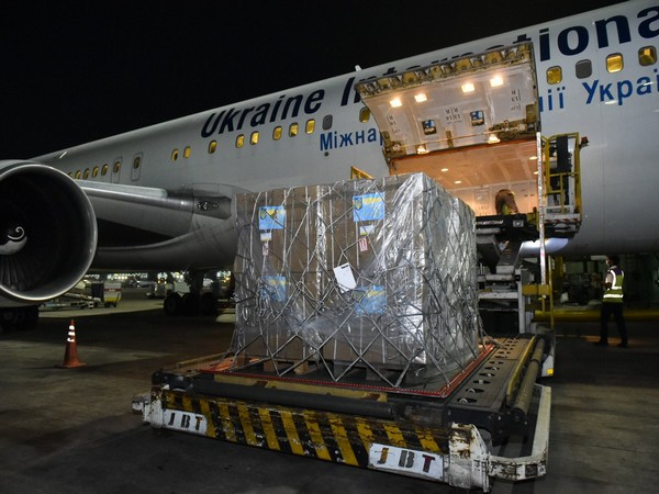 COVID-19: First shipment from Ukraine carrying 184 oxygen concentrators arrives in India