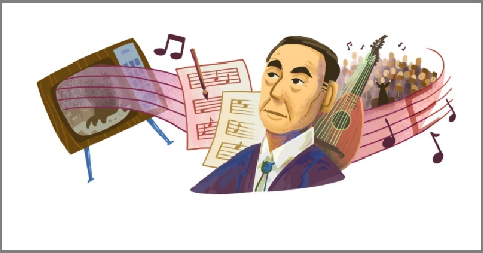Google doodle to honor Japanese composer Akira Ifukube on his 107th birthday