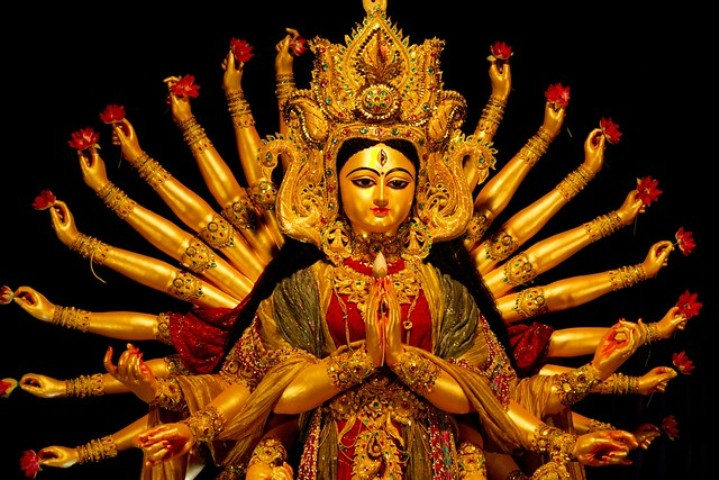 Pomp, gaiety and dazzle mark Bengal's Durga Puja Carnival