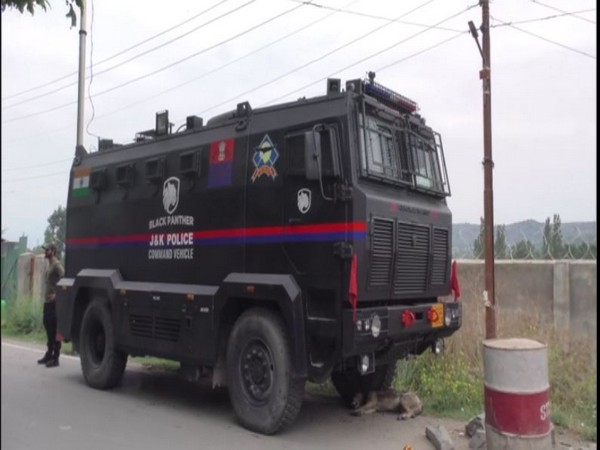 J-K Police inducts Black Panther Command Control Vehicle to boost operation capabilities