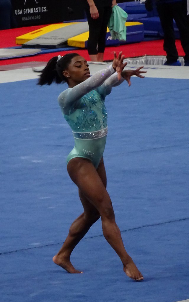 Olympics-Gymnastics-Biles withdraws from floor event final