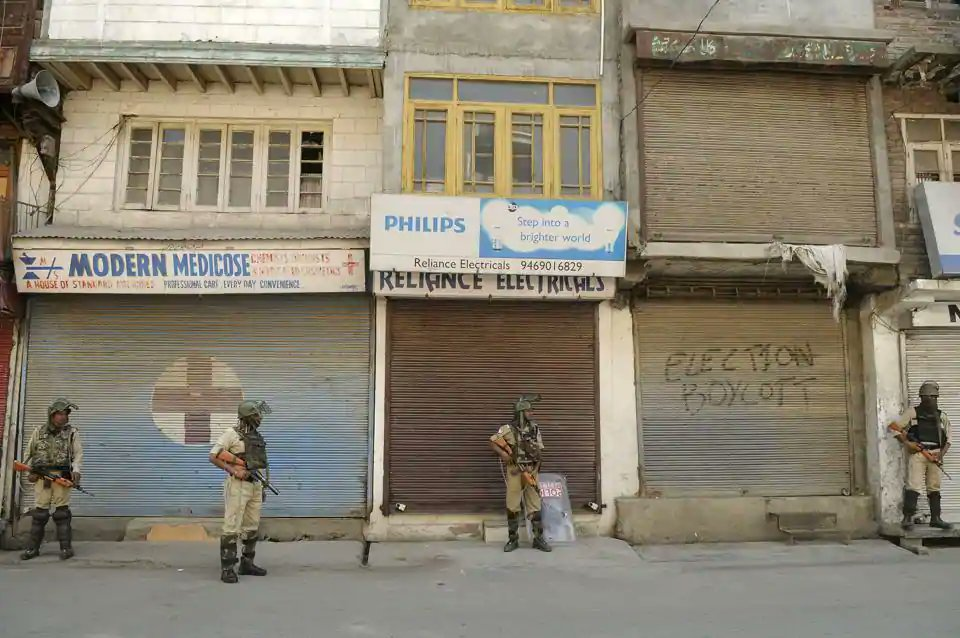 Separatist-called shutdown affects life in Kashmir Valley
