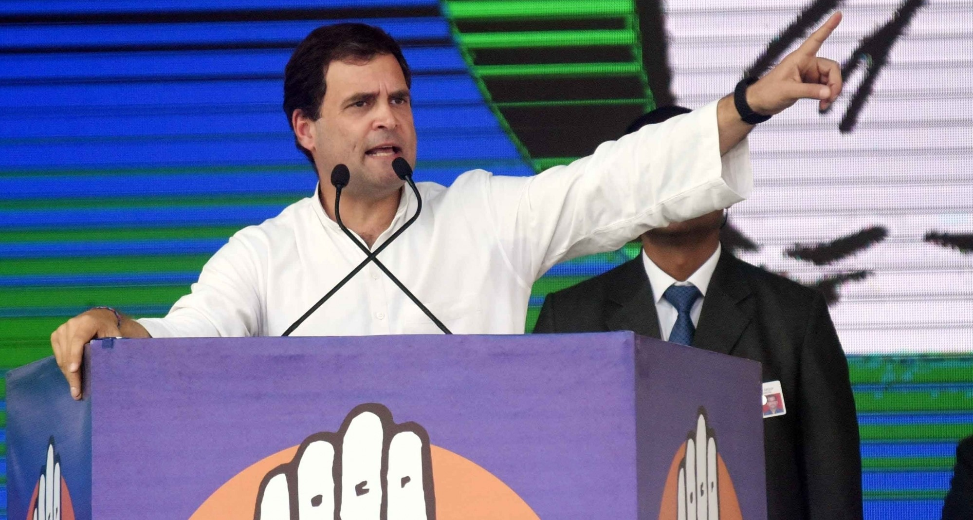 Strict action against those involved in Punjab `sacrilege' cases: Rahul