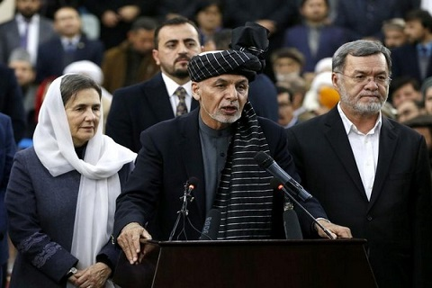 Afghan president blames worsening security situation on sudden U.S. pullout