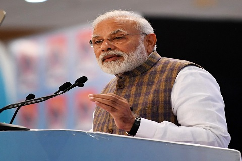 PM Narendra Modi addresses first press conference, fails to take questions from journalists