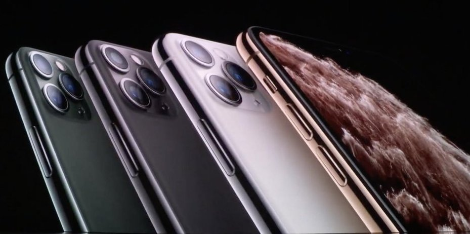 UPDATE 8-Apple reveals triple-camera iPhone; $5 monthly streaming TV undercuts Disney