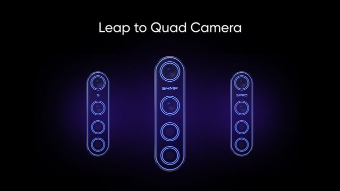 Save the date: Realme 5 series smartphone with quad-camera to launch onAug 20