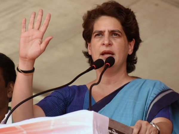 Priyanaka Gandhi launches attack on LDF, BJP Govts