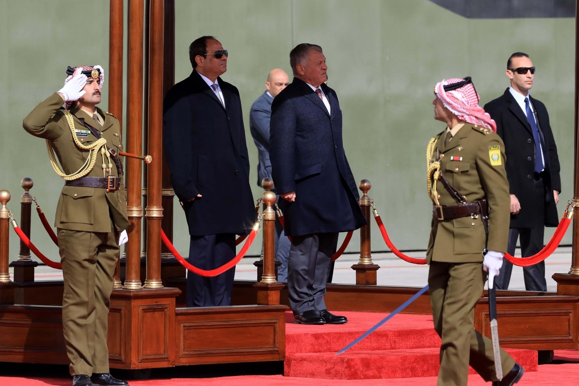 Egypt president el-Sissi visits Sudan amid rapprochement