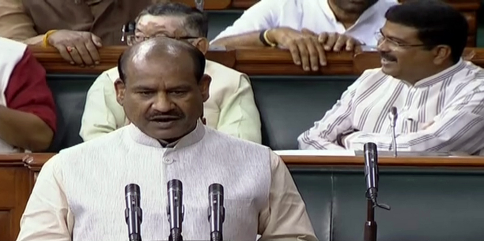 Discussion and dialogue solution to all problems: LS Speaker Om Birla