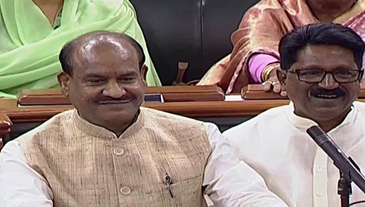 LS Speaker meets President, Vice President