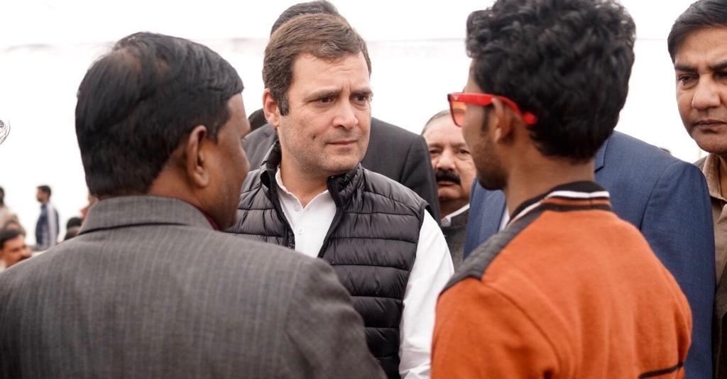 Alwar gang-rape: Rahul accompanied by Gehlot, Pilot assures justice to victim