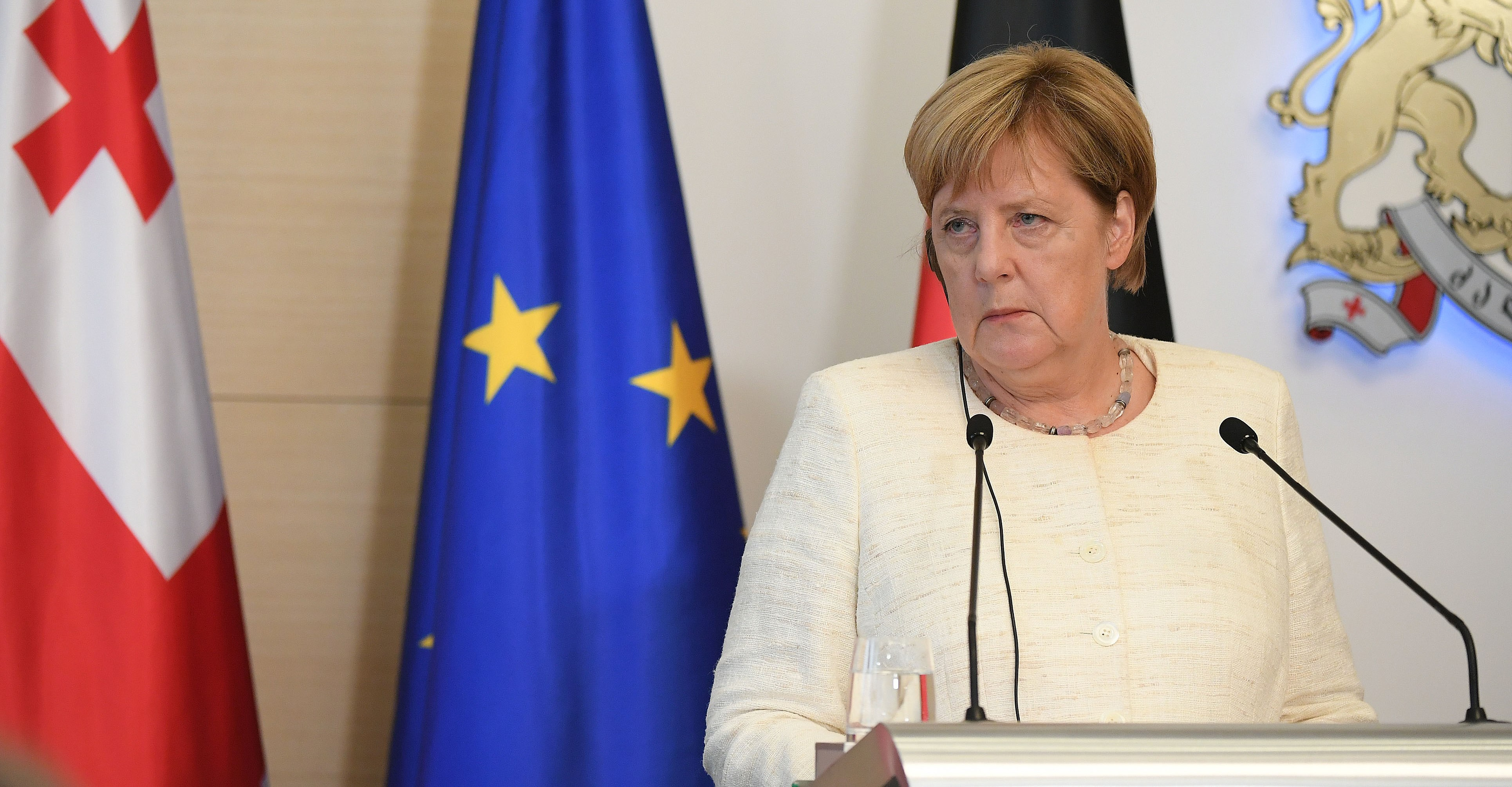 German Cabinet meets to approve financial aid after flooding