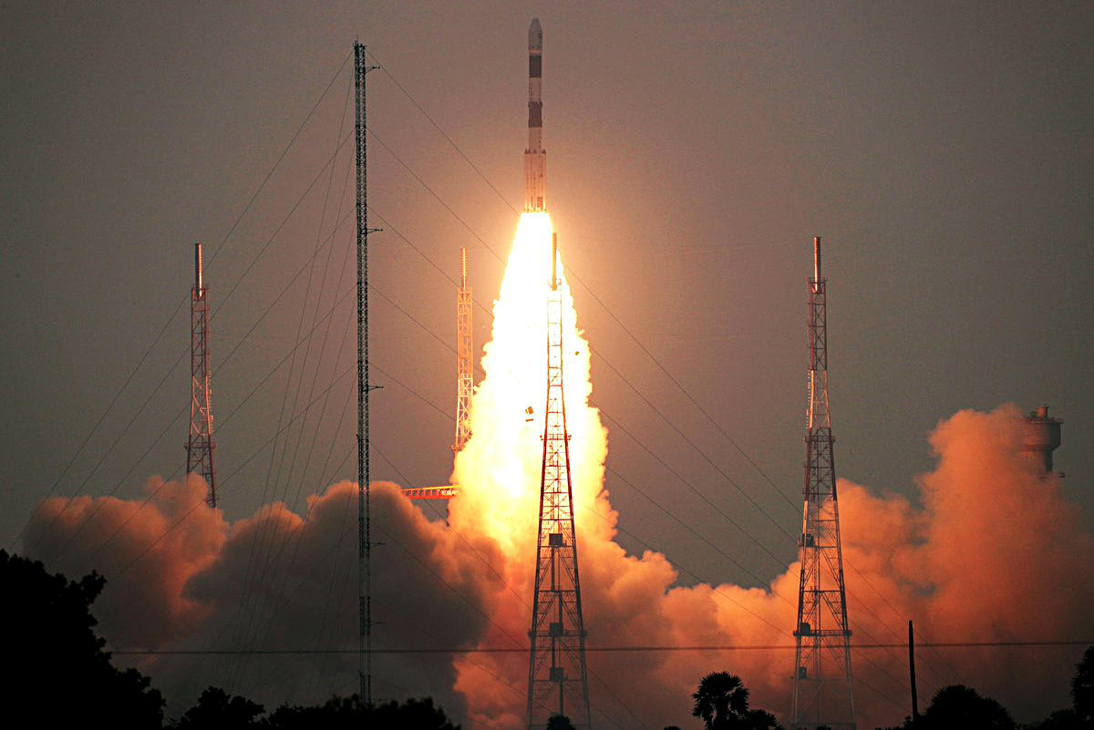 PSLV-C51 launches Brazil's Amazonia-1, 18 other satellites