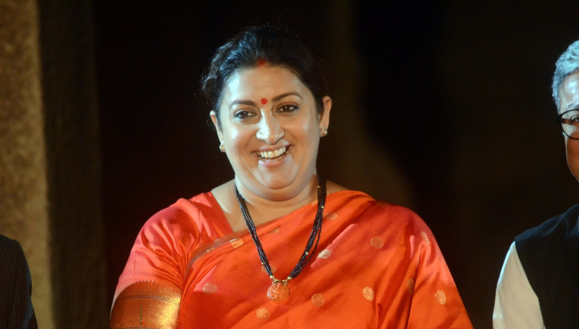2 Gandhi clan members in politics for survival of family: Smriti Irani