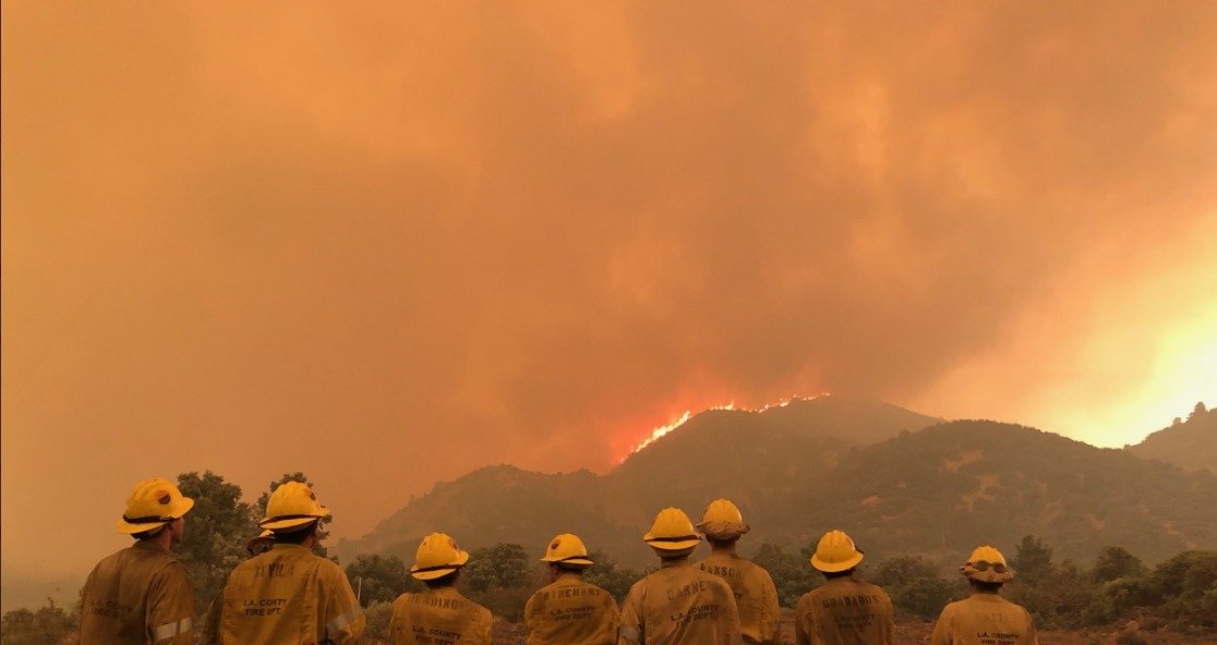 Wind-driven Southern California wildfires prompt mass evacuations, injure 2 firefighters