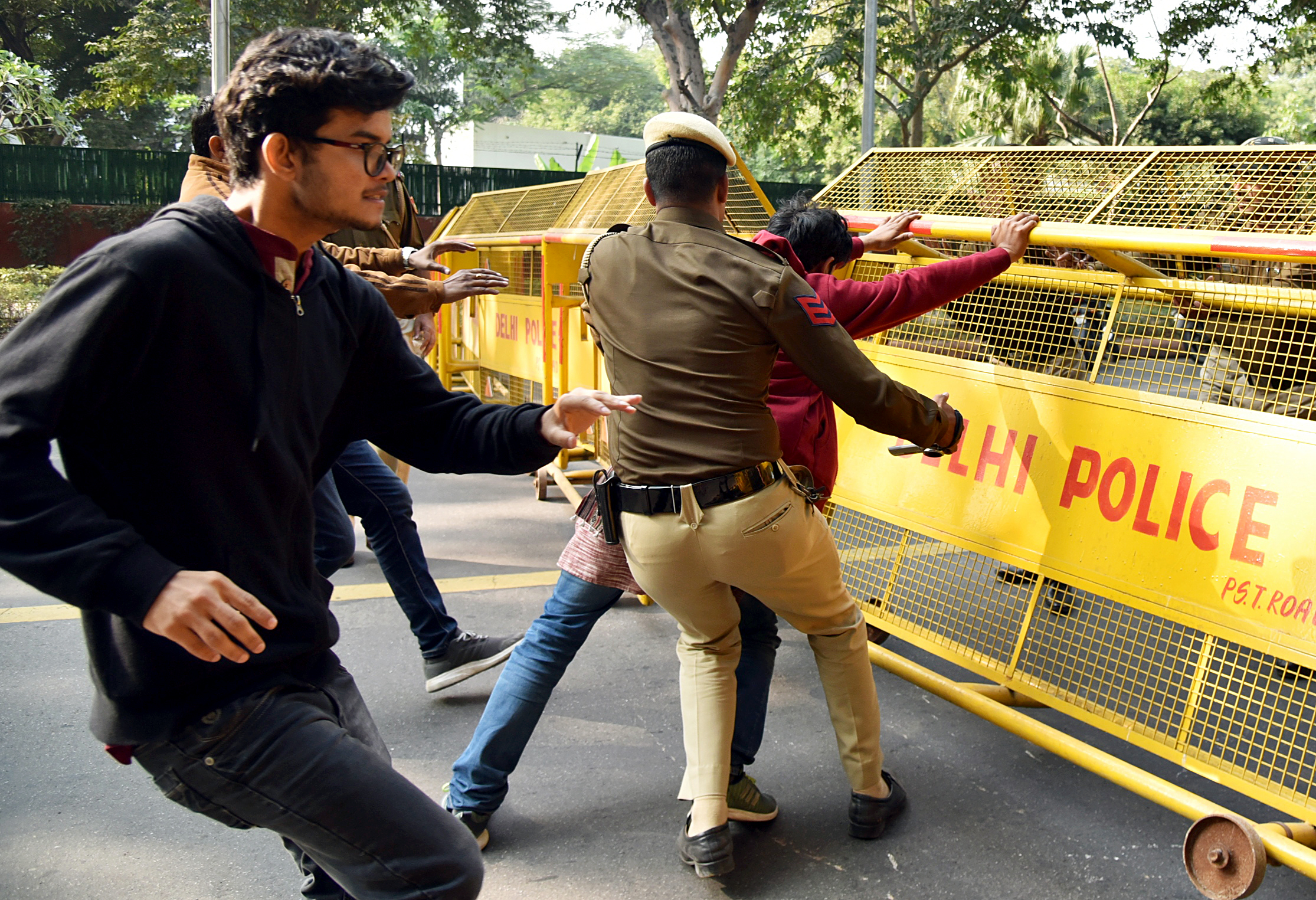 Cops stopped peaceful activists march: DCW