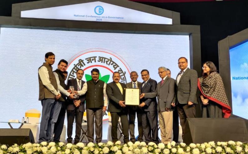 Ayushman Bharat PM-JAY awarded National Gold Award for e-Governance