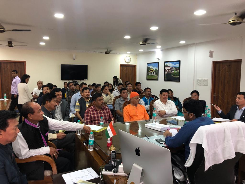 Pre-Monsoon showers in Itanagar, DC reviewed disaster management