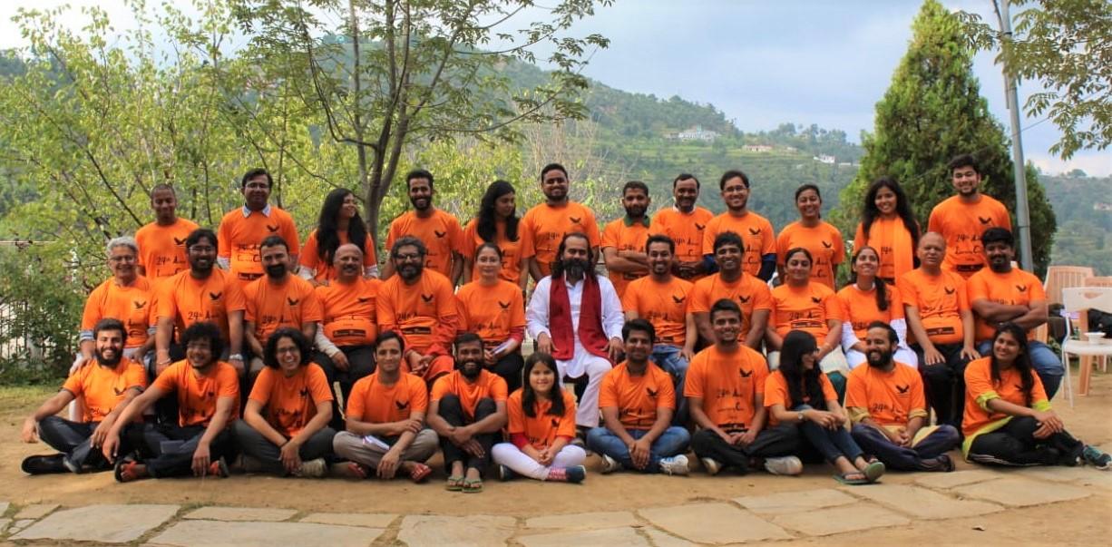 Spiritual Retreat in Delhi by Acharya Prashant of Prashant Advait Foundation